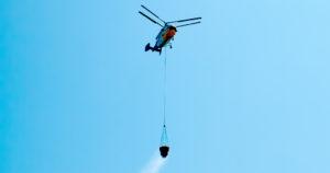 Greek Firefighting helicopter