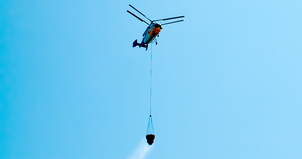 Greek Firefighting helicopter