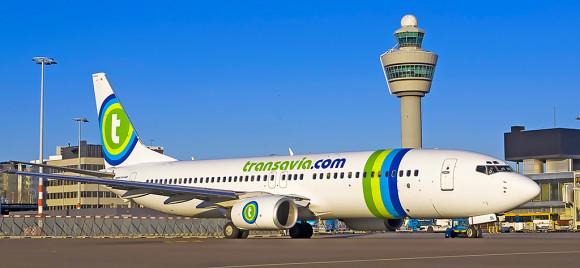 Transavia flights from Rotterdam to Rhodes