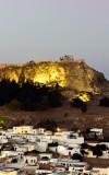 Lindos' Acropolis new illumination project