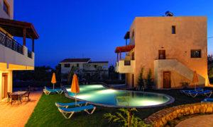 Blue Dream Villas - pool view 1