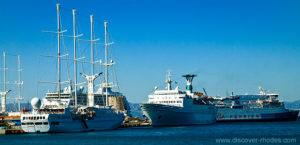 Ferries in Rhodes 1