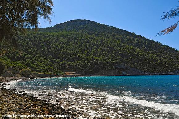 Glyfada beach - Discover Rhodes