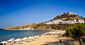 Lindos main beach 1