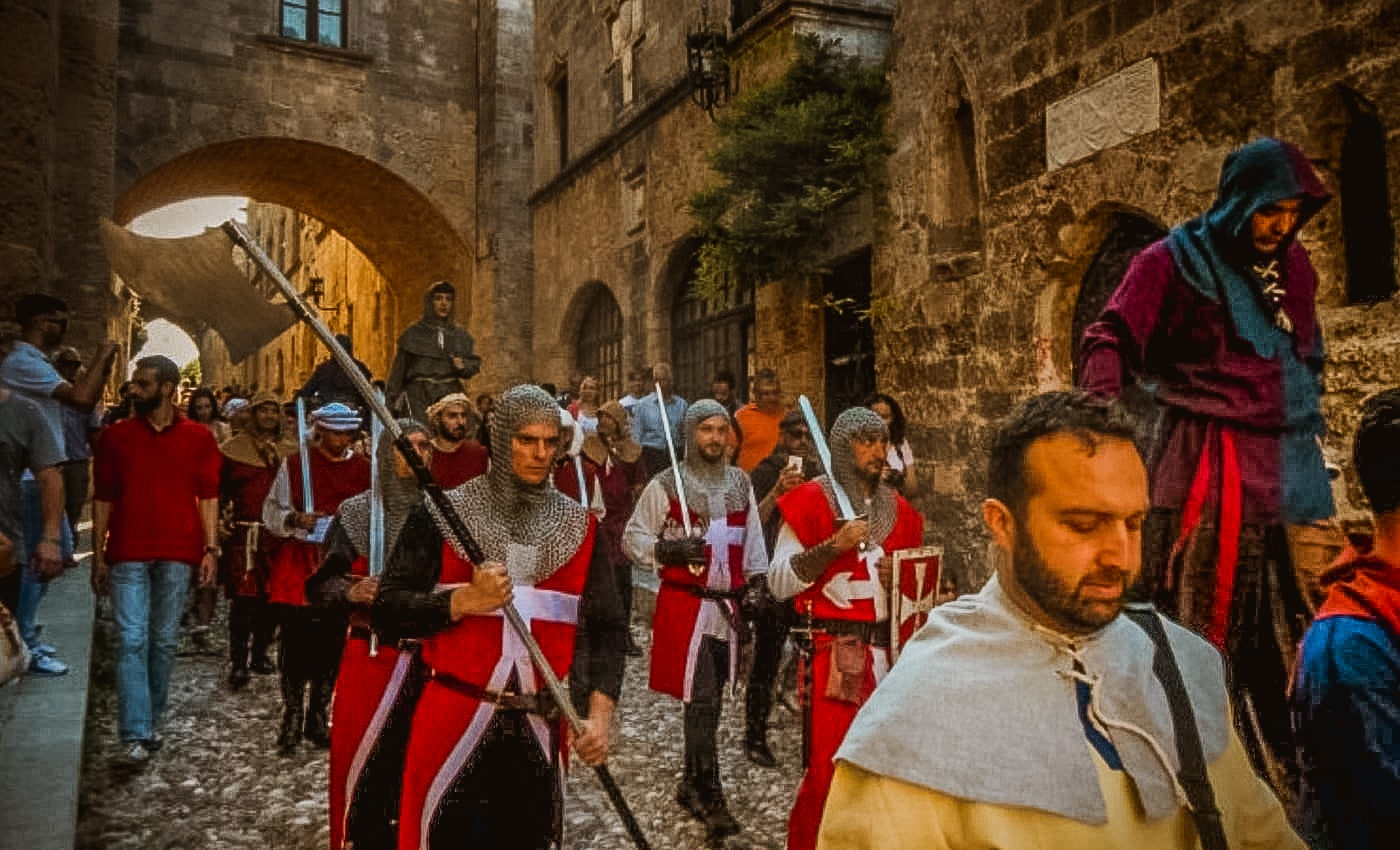 Medieval Festival of Rhodes (May 31 – June 2)