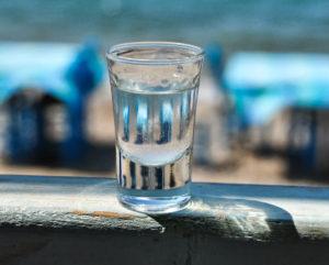 A glass of ouzo 1