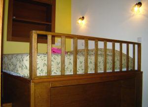Petroto Villas - smaller villa platform bed 1