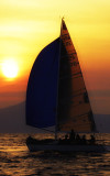 Sailing in Rhodes