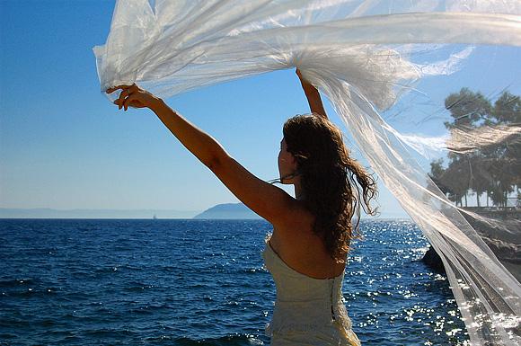 No stress wedding in the sun
